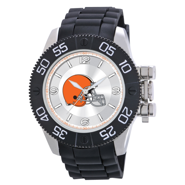 Cleveland Browns Mens Heavy Duty Watch - Beast
