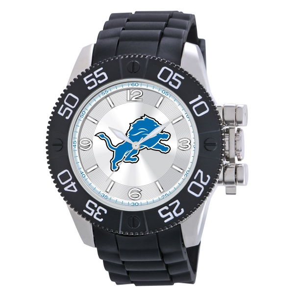 Detroit Lions Mens Heavy Duty Watch - Beast