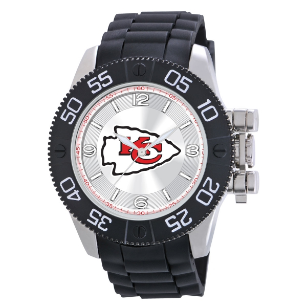 Kansas City Chiefs Mens Heavy Duty Watch - Beast