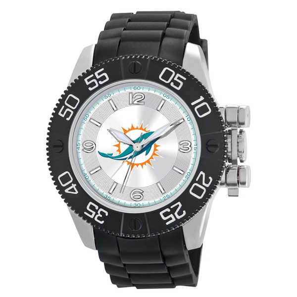 Miami Dolphins Mens Heavy Duty Watch - Beast