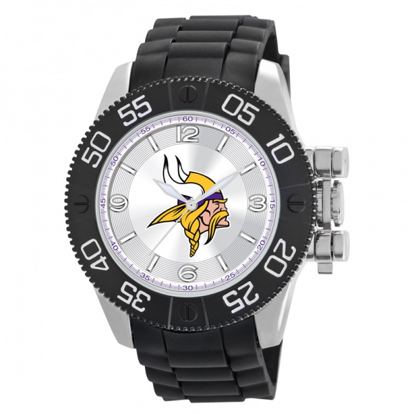Minnesota Vikings Mens Heavy Duty Watch - Beast