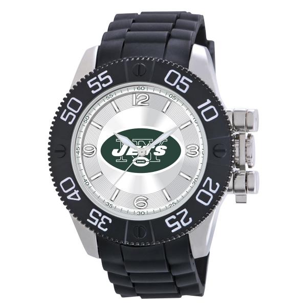 New York Jets Mens Heavy Duty Watch - Beast
