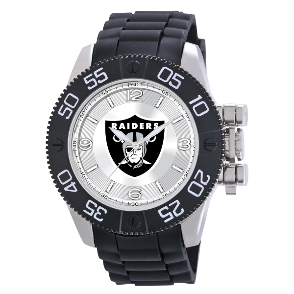 Oakland Raiders Mens Heavy Duty Watch - Beast
