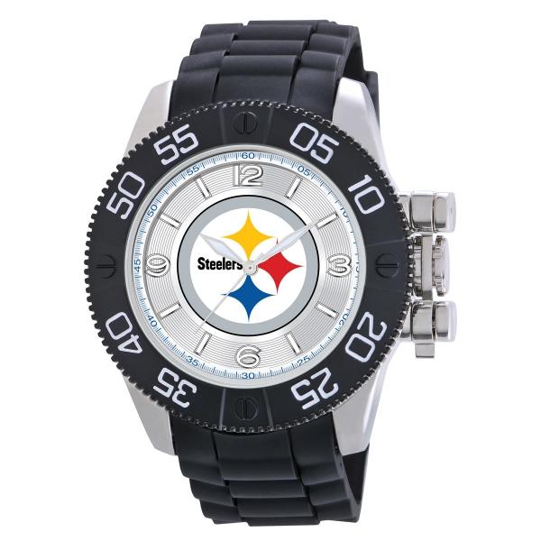 Pittsburgh Steelers Mens Heavy Duty Watch - Beast