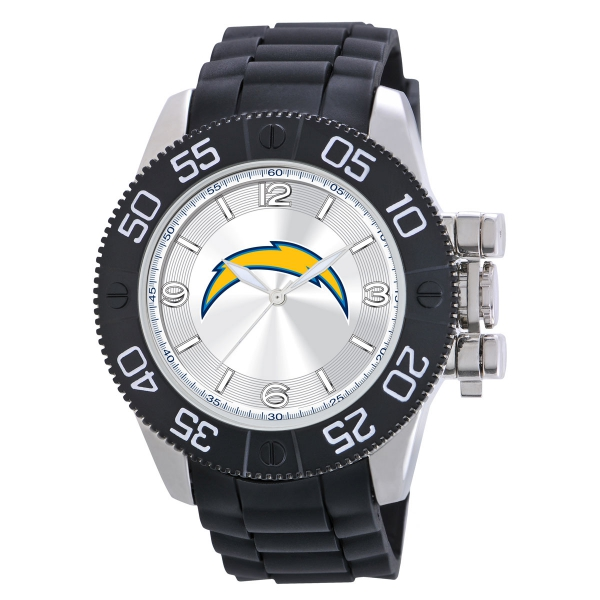 San Diego Chargers Mens Heavy Duty Watch - Beast