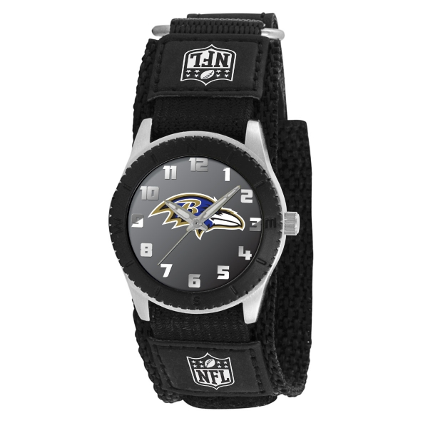 Baltimore Ravens Kids Watch - Rookie Black