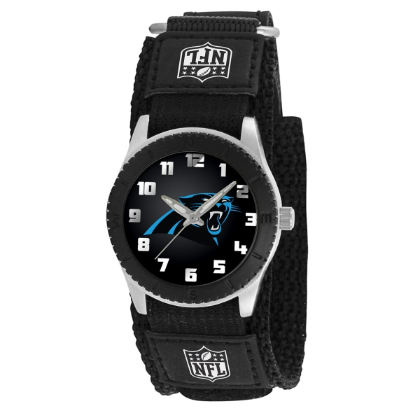 Carolina Panthers Kids Watch - Rookie Black