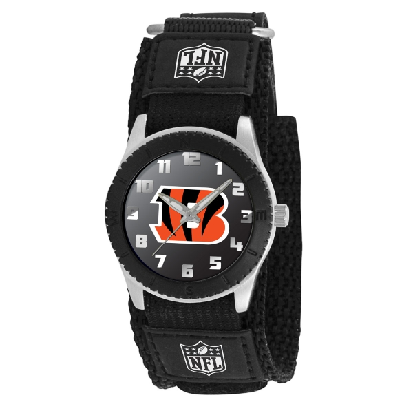 Cincinnati Bengals Kids Watch - Rookie Black