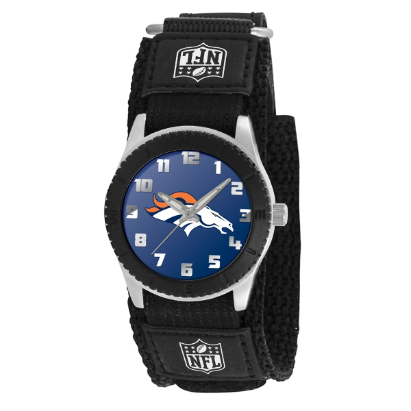 Denver Broncos Kids Watch - Rookie Black
