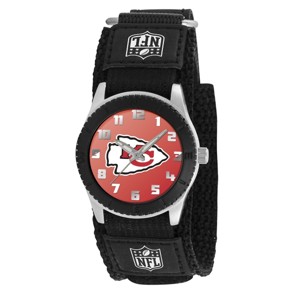 Kansas City Chiefs Kids Watch - Rookie Black