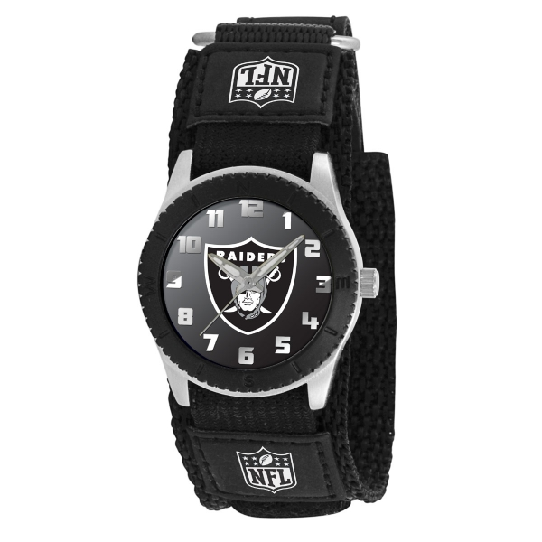 Oakland Raiders Kids Watch - Rookie Black