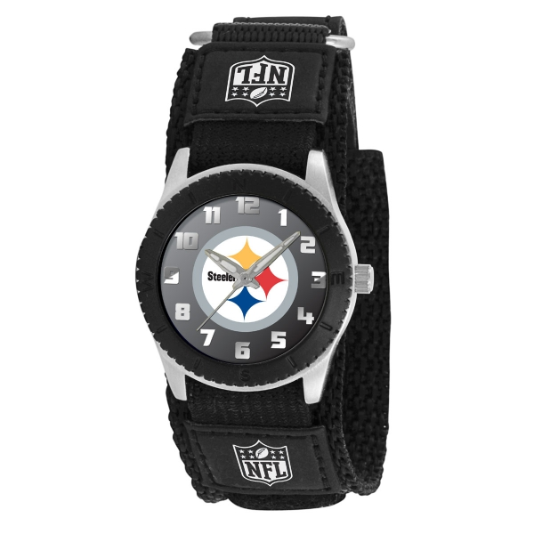 Pittsburgh Steelers Kids Watch - Rookie Black
