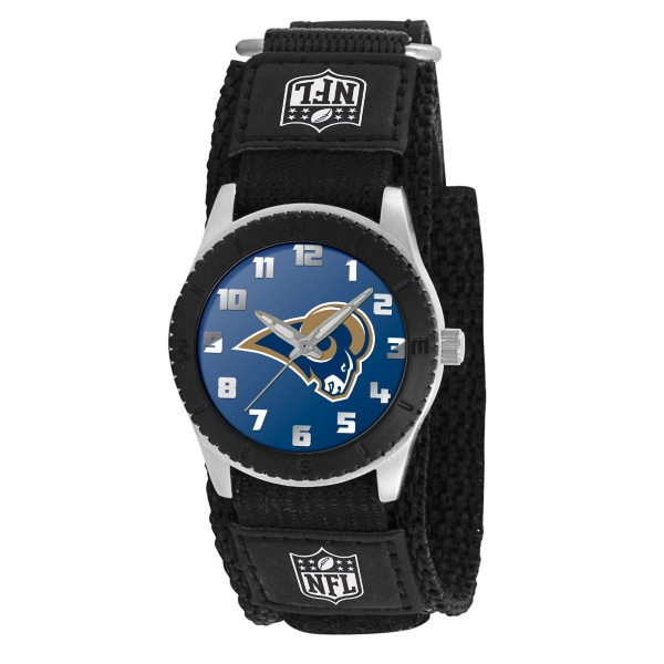 St Louis Rams Kids Watch - Rookie Black