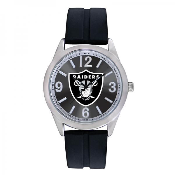 Oakland Raiders Mens NFL Watch - Varsity