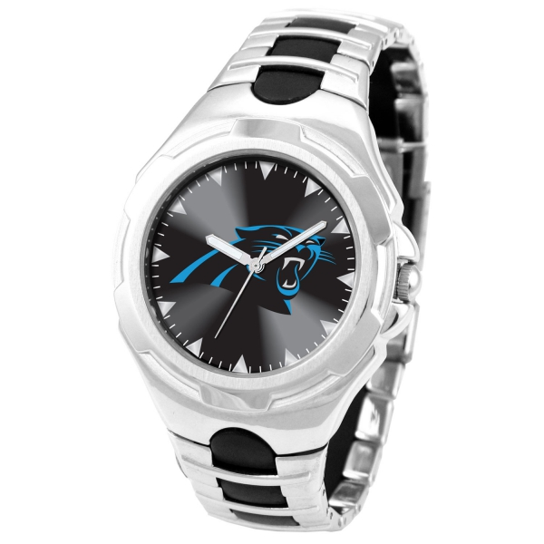 Carolina Panthers Adult Mens Watch - Victory