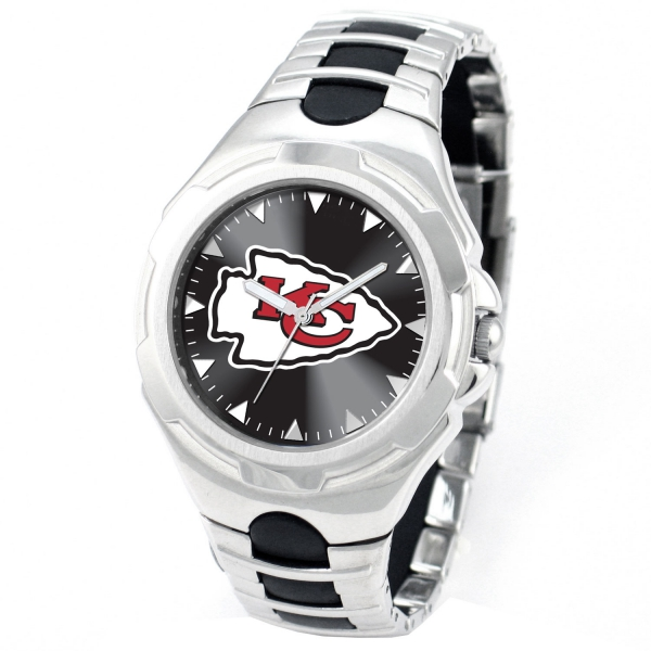 Kansas City Chiefs Adult Mens Watch - Victory