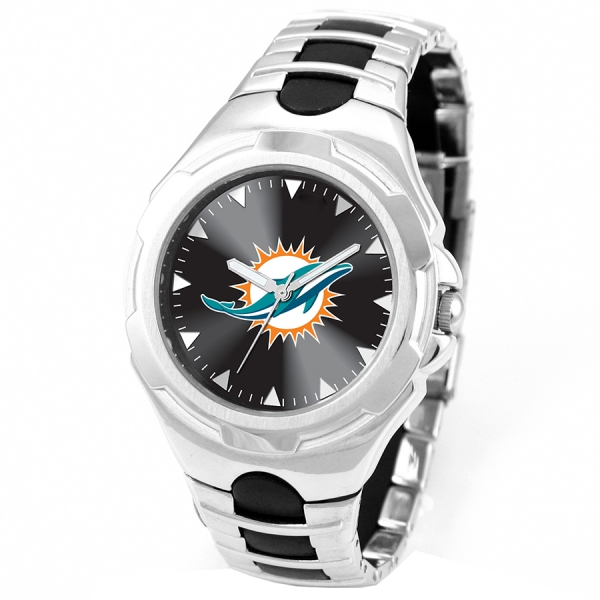 Miami Dolphins Adult Mens Watch - Victory