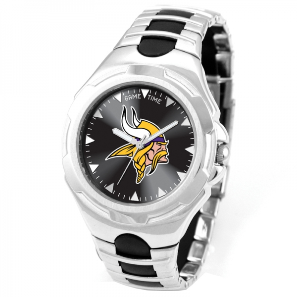 Minnesota Vikings Adult Mens Watch - Victory