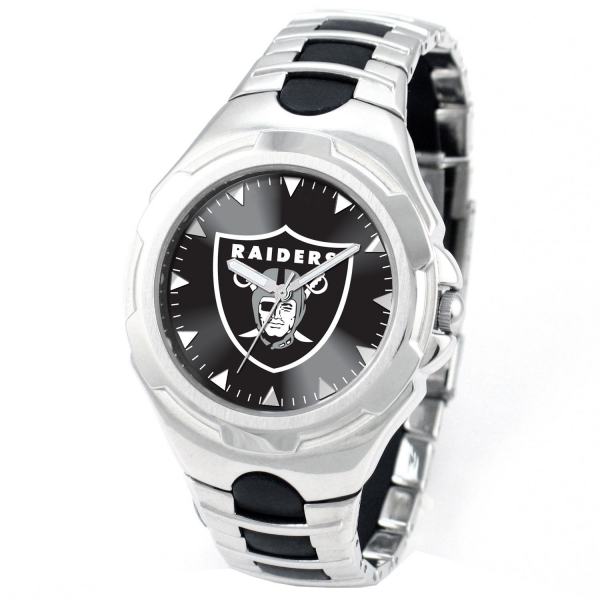 Oakland Raiders Adult Mens Watch - Victory