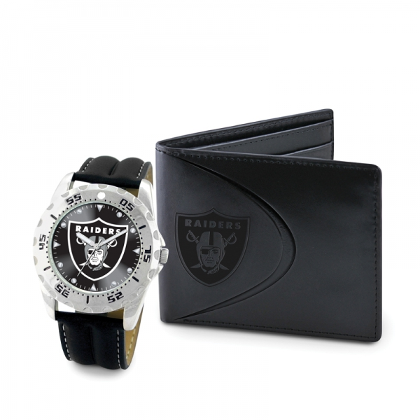 oakland raiders wallet