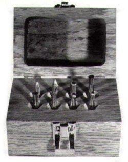 Carbide Burr Cutting Tool Set 4