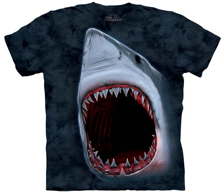 shark bite shirt