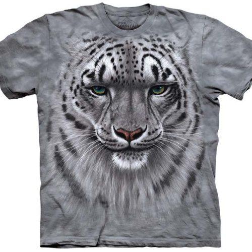 Snow Leopard Portrait Shirt