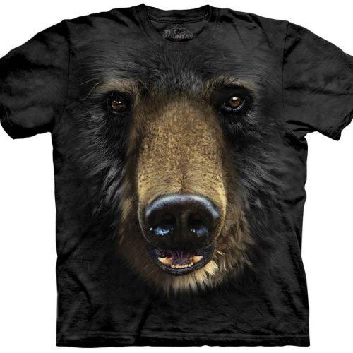 Black Bear Face Shirt