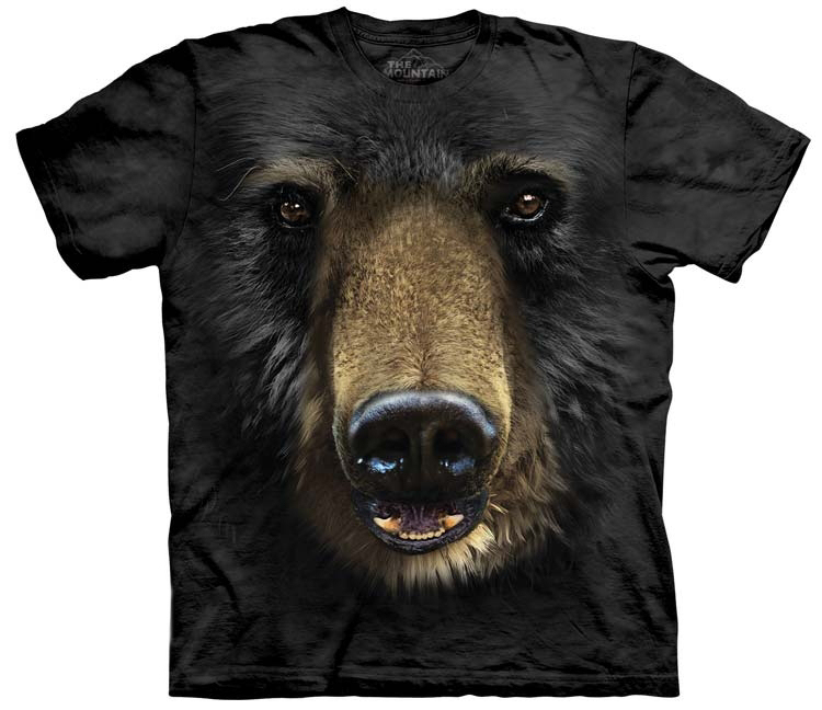 Black Bear Face Shirt