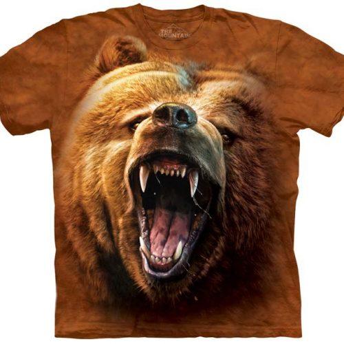 Grizzly Bear Growl Shirt