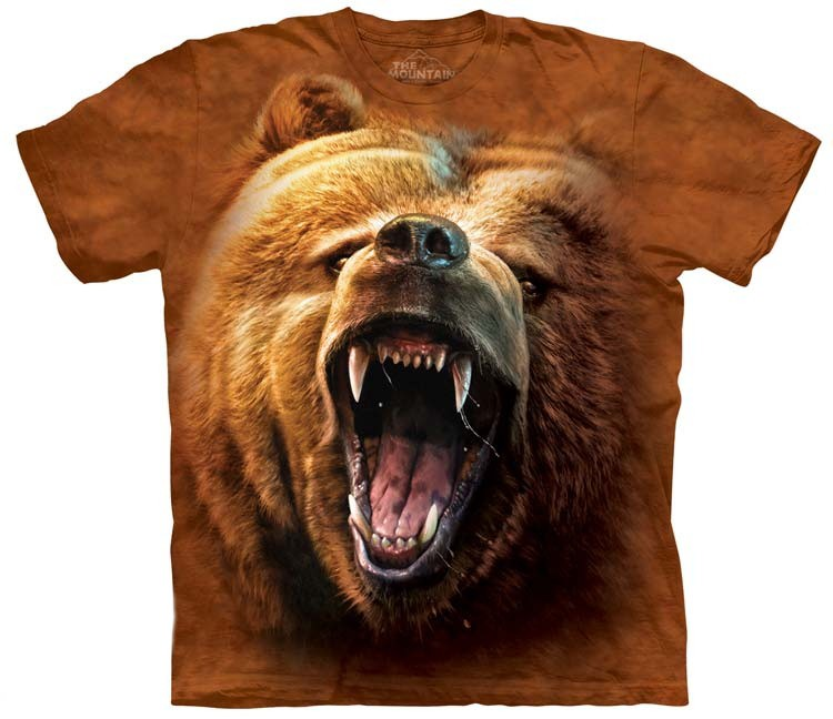 Grizzly Bear Growl Shirt