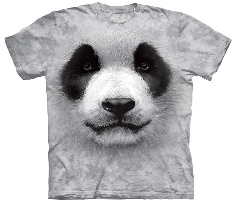 Big Face Panda Shirt
