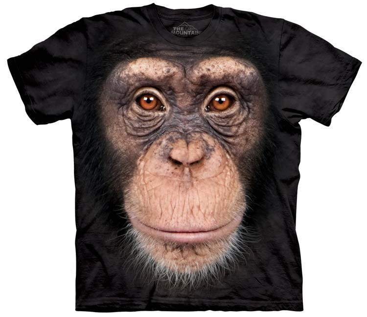 Chimpanzee Face Shirt