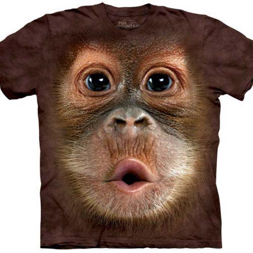 Big Face Baby Orangutan Shirt