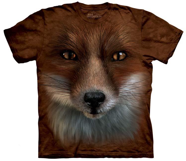 Big Face Fox Shirt