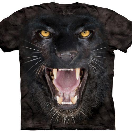 Aggressive Black Panther Shirt