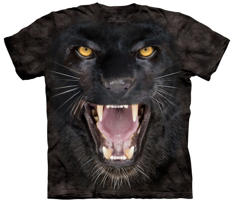 Aggressive Black Panther Shirt
