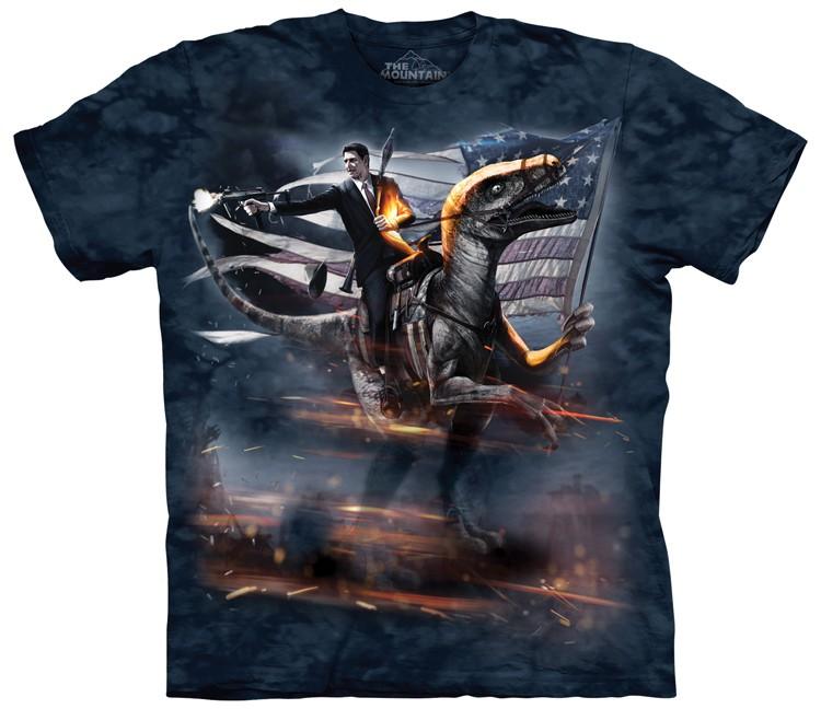 Ronald Reagan Velociraptor Shirt