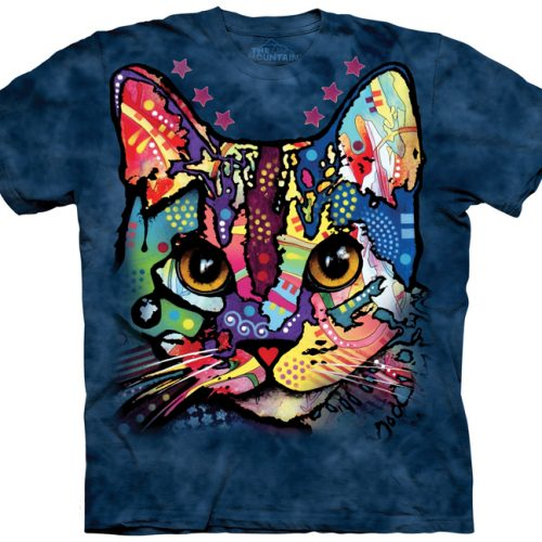 patches the cat shirt