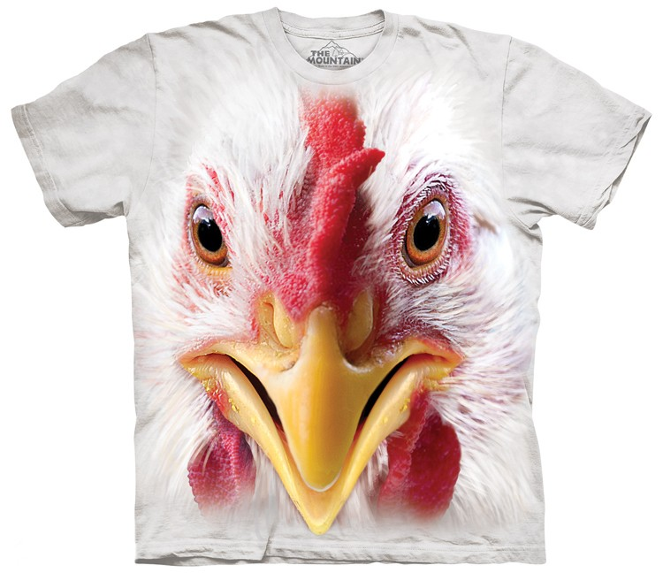 Big Face Chicken Shirt