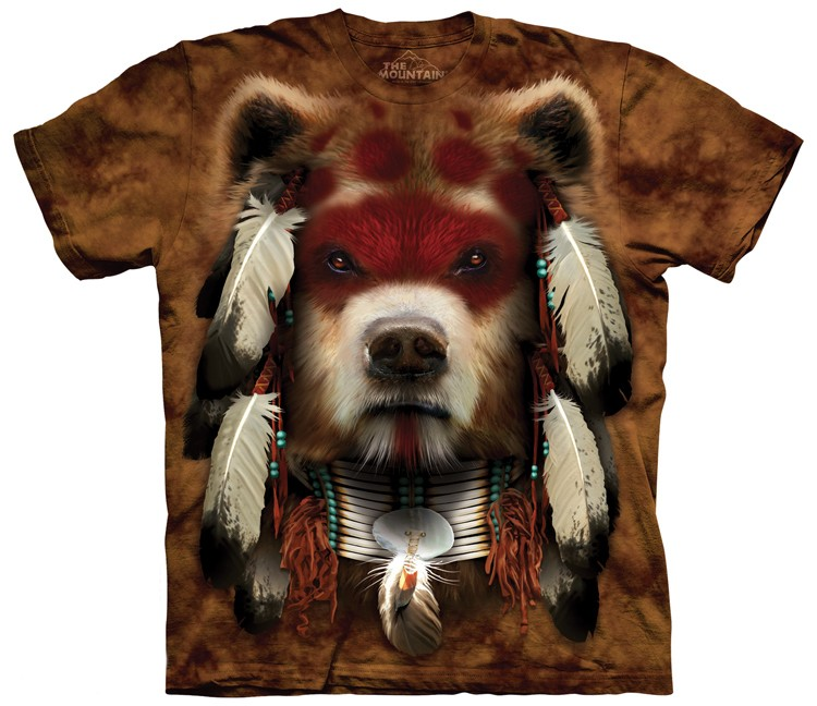 warrior bear shirt