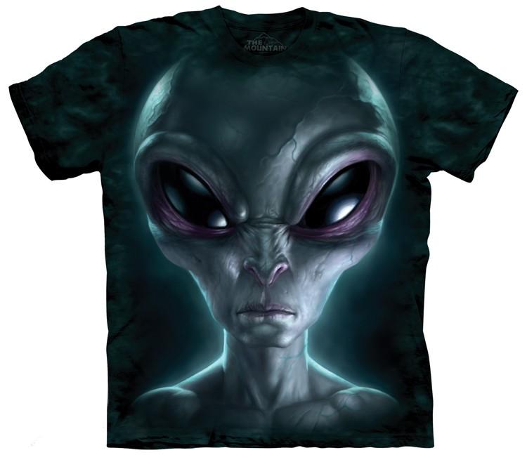 grey alien shirt