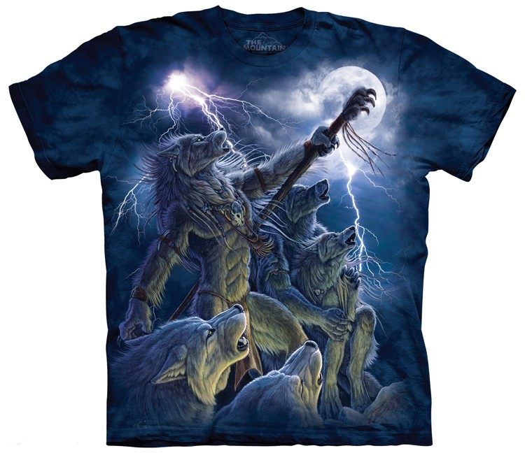 Calling the Storm Wolf Shirt