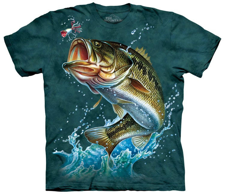 bass fish shirt