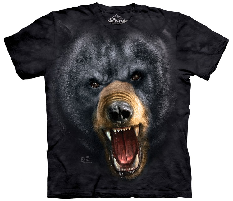 Aggressive Black Bear Shirt