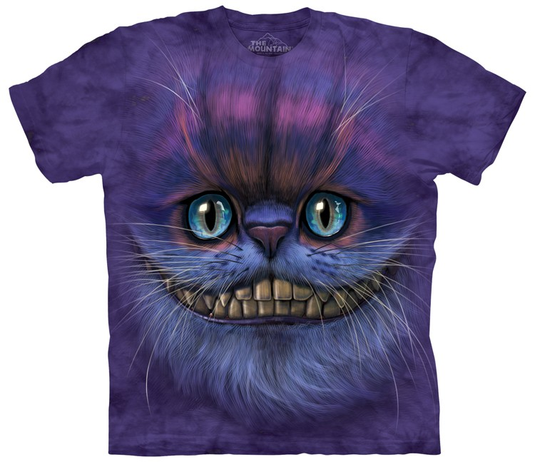 Big Face Cheshire Cat Shirt