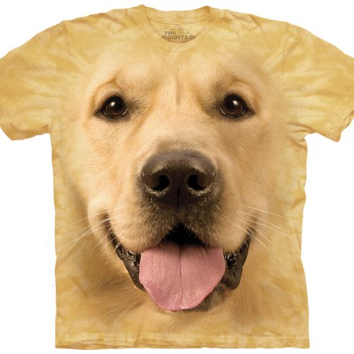 Big Face Golden Retriever Shirt