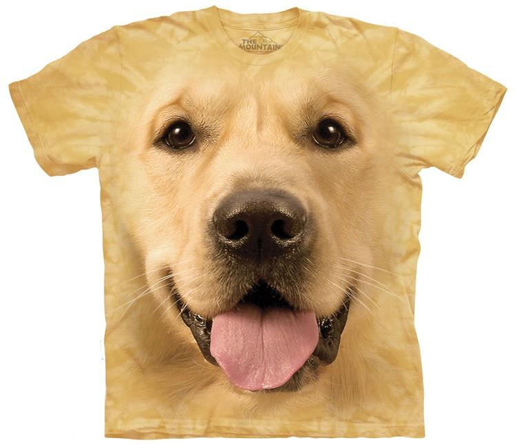 Big Face Golden Retriever Shirt