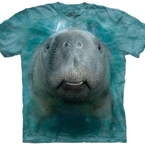 big face manatee shirt