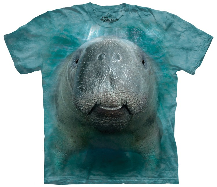 big face manatee shirt